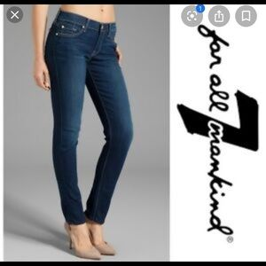 7 FOR ALL MANKIND CIGARETTE JEANS